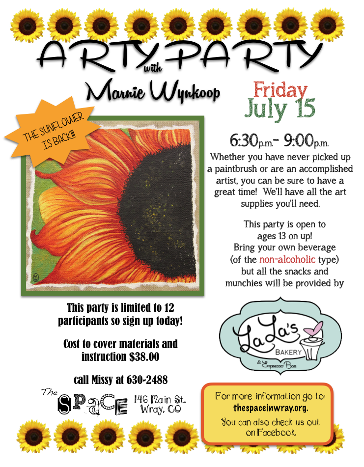 arty party 7:15