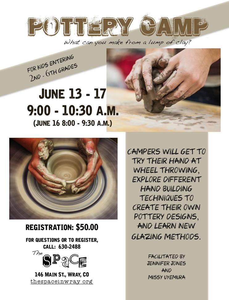 pottery camp 2016