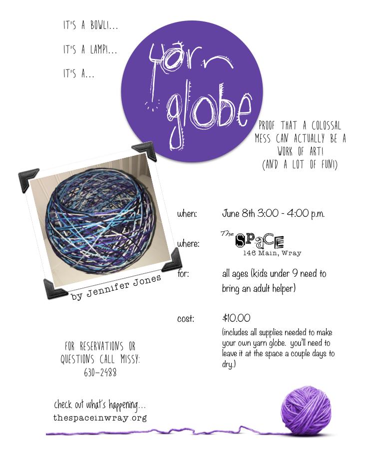 Yarn Globe 2016