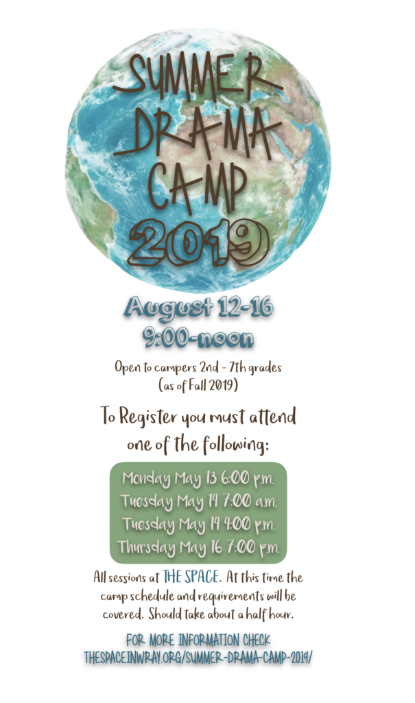 Summer Drama Camp 2019 | The Space